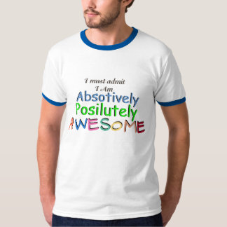 Awesome Typography T-shirt