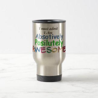 Awesome Typography Travel Mug