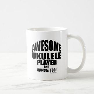 Awesome Ukulele Player Coffee Mug