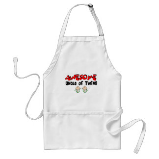 AWESOME Uncle of TWINS Adult Apron