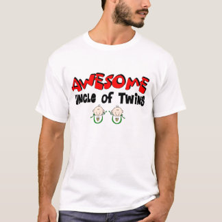 AWESOME UNCLE of TWINS T-Shirt
