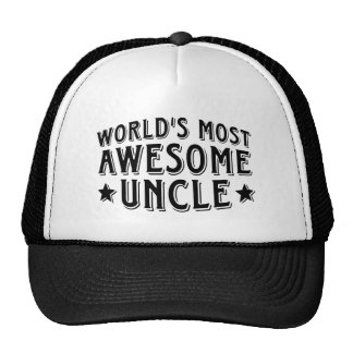 Awesome Uncle Trucker Hat