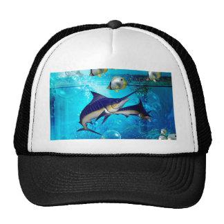 Awesome underwater world trucker hat