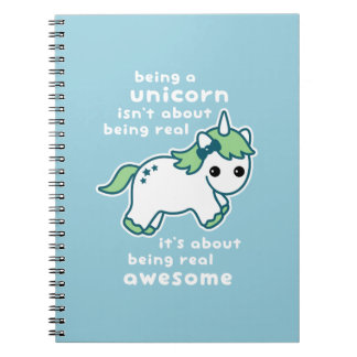Awesome Unicorn Spiral Notebook