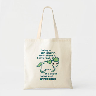 Awesome Unicorn Tote Bag