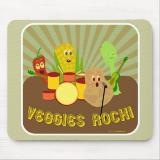 Awesome Veggie Band! Mousepads