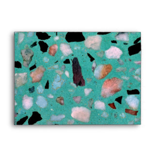 Awesome vintage abstract marble texture image envelope