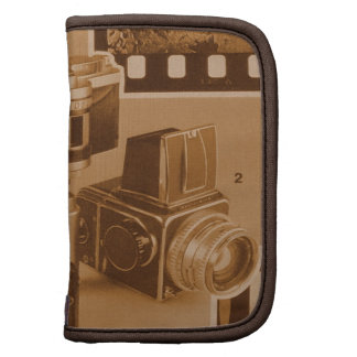 Awesome Vintage Cameras Collage Picture Image Folio Planner