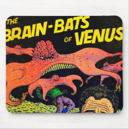 Awesome Vintage Comic Book Mouse Pad