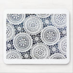 Awesome Vintage Crocheted Doily Design Mouse Pads