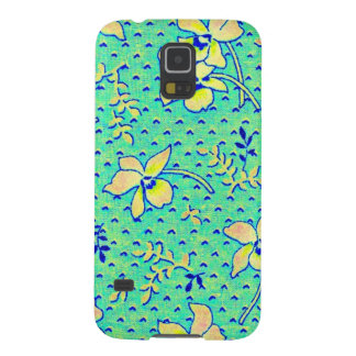 Awesome Vintage Feedsack Fabric Image Galaxy S5 Case