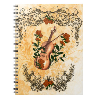 Awesome violin notebook