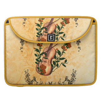 Awesome violin sleeve for MacBook pro
