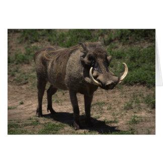 Awesome Warthog Greeting Card
