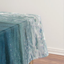 Awesome Wave sea shore nautical ocean Tablecloth