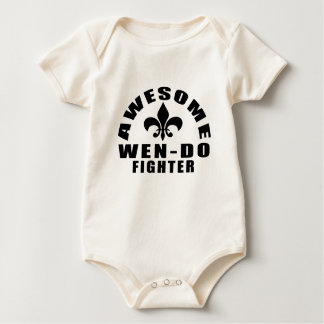 AWESOME WEN-DO FIGHTER BABY BODYSUIT