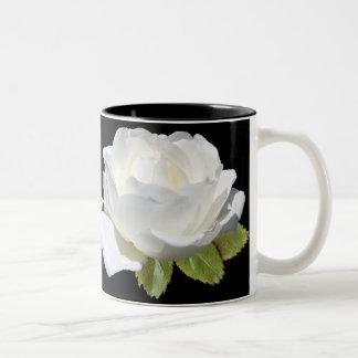 Awesome White Roses Mugs