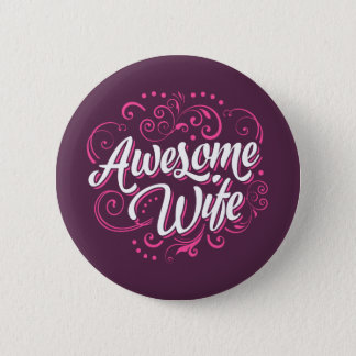 Awesome Wife Button