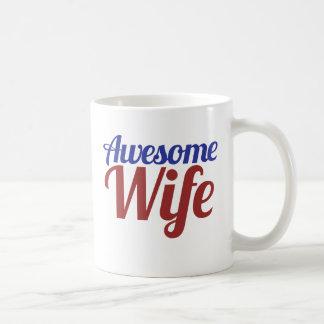 Awesome Wife Classic White Coffee Mug