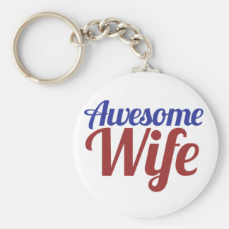 Awesome Wife Keychains
