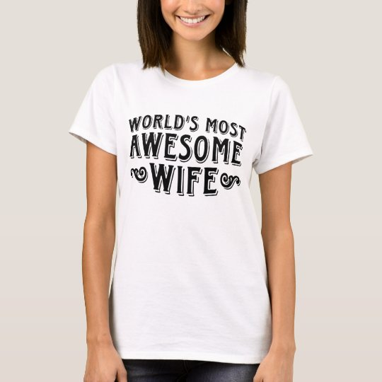 Awesome Wife T-Shirt