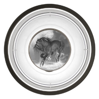 Awesome wild horse pet bowl