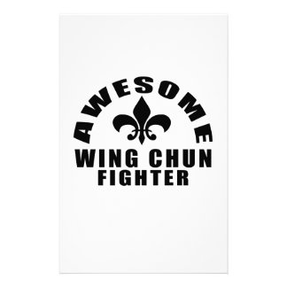 AWESOME WING CHUN FIGHTER STATIONERY