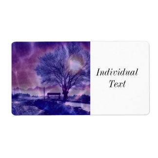 Awesome winter Impression B Label