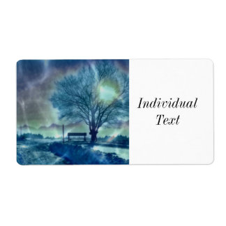 Awesome winter Impression Label