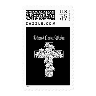 Awesome Wishes for a Blessed Easter! Postage
