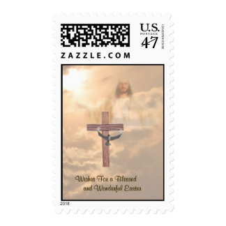 Awesome Wishes for a Blessed & Wonderful Easter! Postage