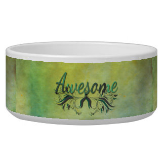 Awesome with Flourishes Bowl