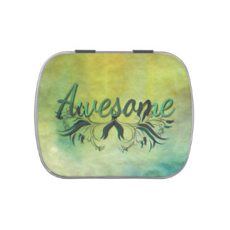 Awesome with Flourishes Jelly Belly Tin