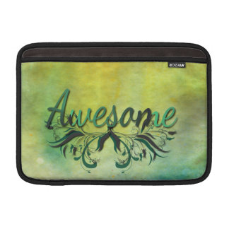Awesome with Flourishes MacBook Sleeve