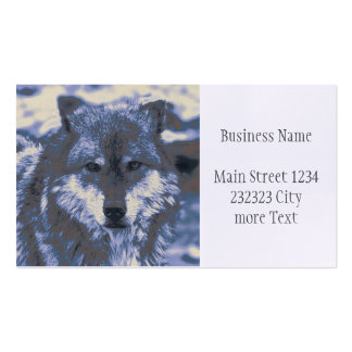 awesome Wolf Business Card