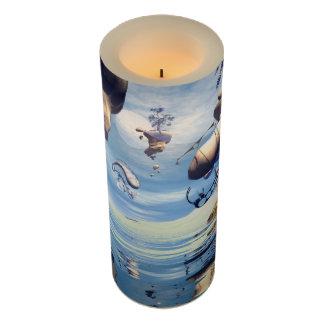 Awesome wonderland flameless candle