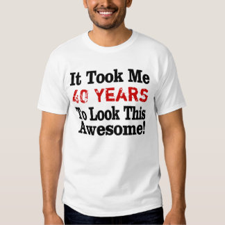 Awesome Years Old T-shirt