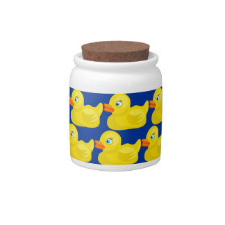 Awesome Yellow Rubber Ducky Wallpaper Design Candy Jars