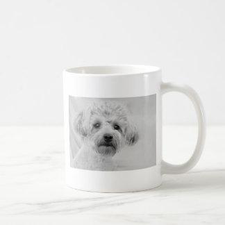 Awesome  Yorkie Poo in Sepia Tones Coffee Mug