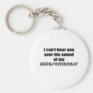 Awesomeness Basic Round Button Keychain