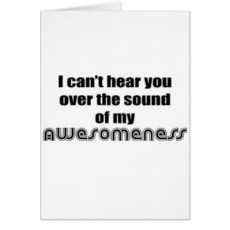 Awesomeness Card