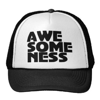 Awesomeness Cool Printed Trucker Hat Cap design