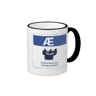Awesomeness Encapsulated Ringer Coffee Mug