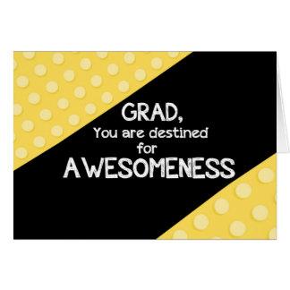 Awesomeness Graduation Congratulations Card