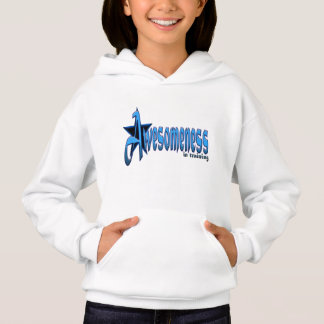 Awesomeness in Training in Blue Youth Hoodie
