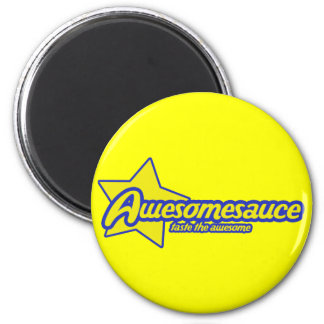 Awesomesauce 2 Inch Round Magnet