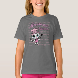 Awesomesauce Cute Cat T-shirt by Cheeky Chats