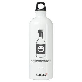 Awesomesauce (Light Product/Dark Design) Aluminum Water Bottle