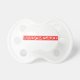 Awesomesauce Stamp Pacifier