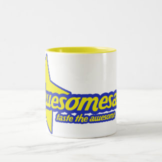 Awesomesauce Two-Tone Coffee Mug